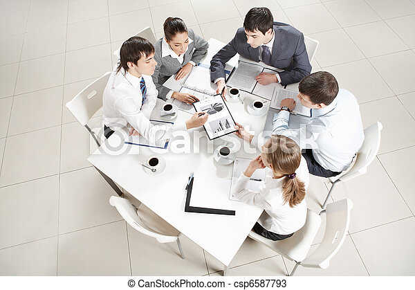 Business education - csp6587793
