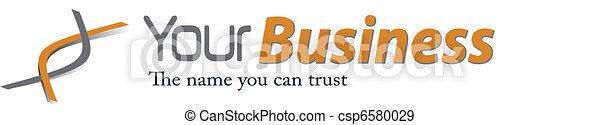 Business elegant logo - csp6580029