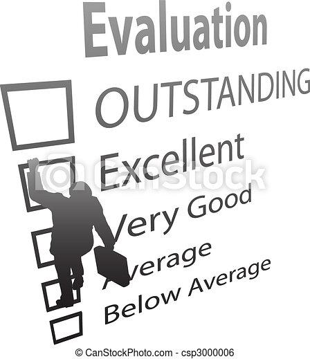 Business Employee Climbs Up Evaluation Improvement Form - csp3000006