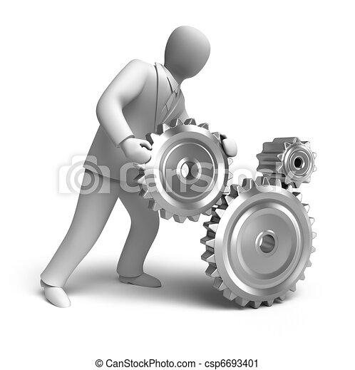 Business engineering in progress - csp6693401