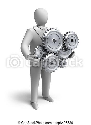Business engineering in progress - csp6428530