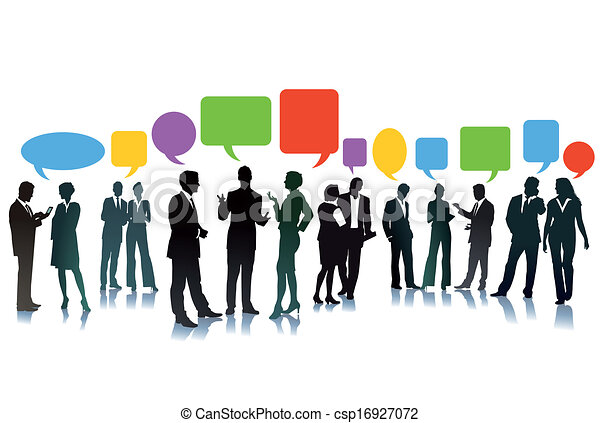 Business exchange of ideas - csp16927072