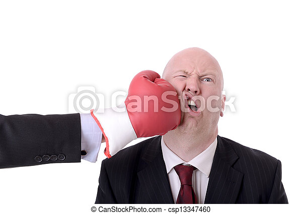 business fight - csp13347460