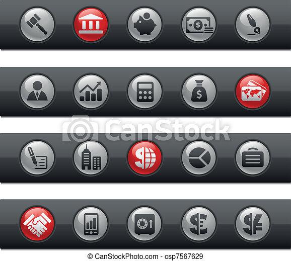 Business & Finance / Buttonbar - csp7567629