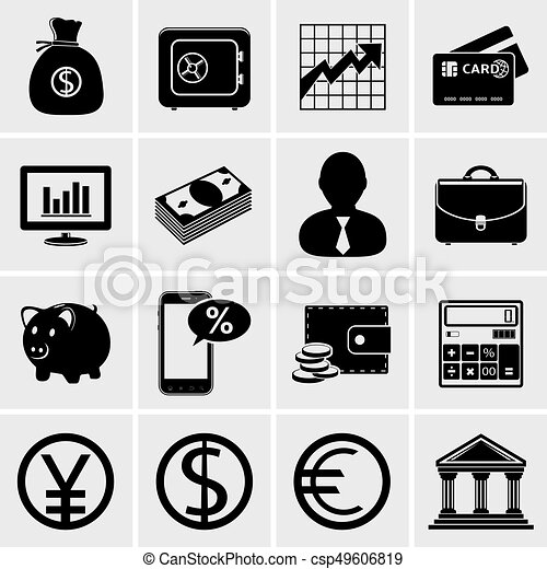Business & Finance Icons - csp49606819