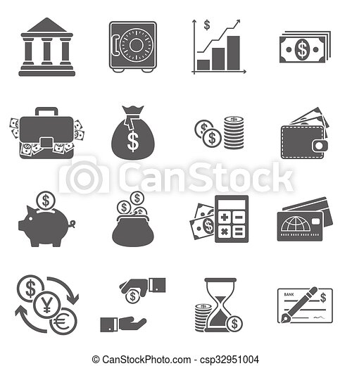 Business Finance Icons - csp32951004