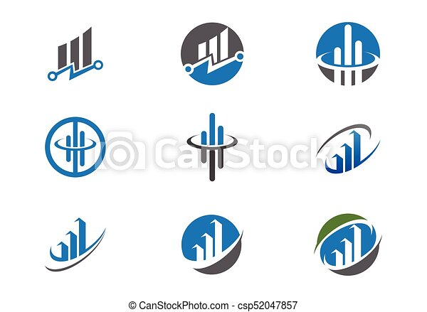 Business Finance Logo - csp52047857