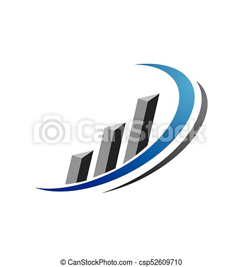 Business Finance professional logo template - csp52609710