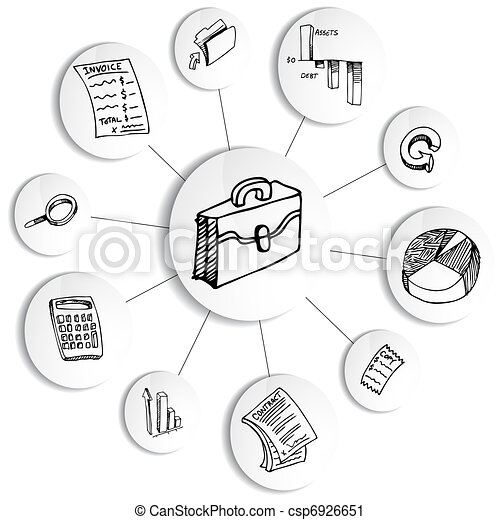 An image of a business financial accounting diagram wheel vector business financial accounting diagram wheel csp6926651 ccuart Images