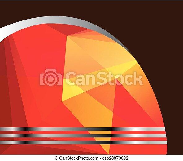Business Flyer background Design - csp28870032