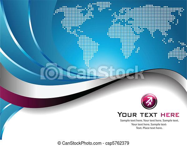 business, fond - csp5762379