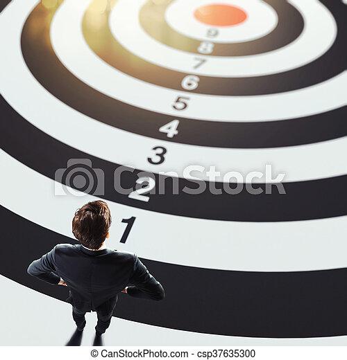 Business goals - csp37635300