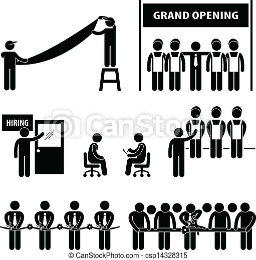 Business Grand Opening - csp14328315