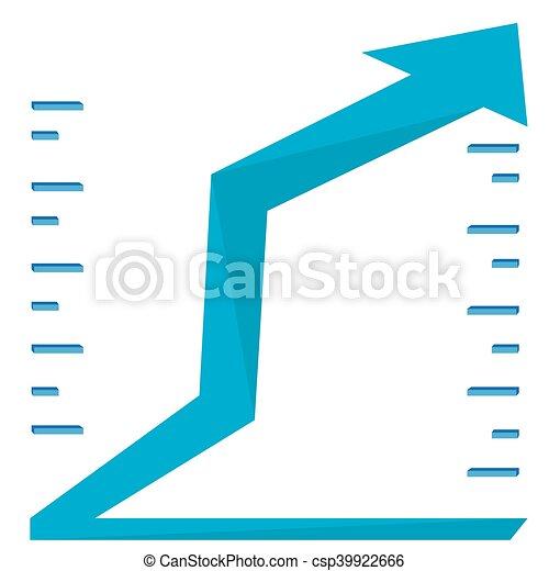 Business graph bar - csp39922666