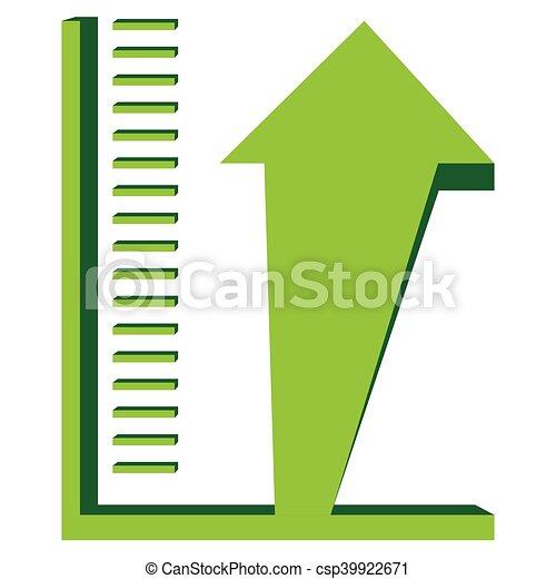 Business graph bar - csp39922671