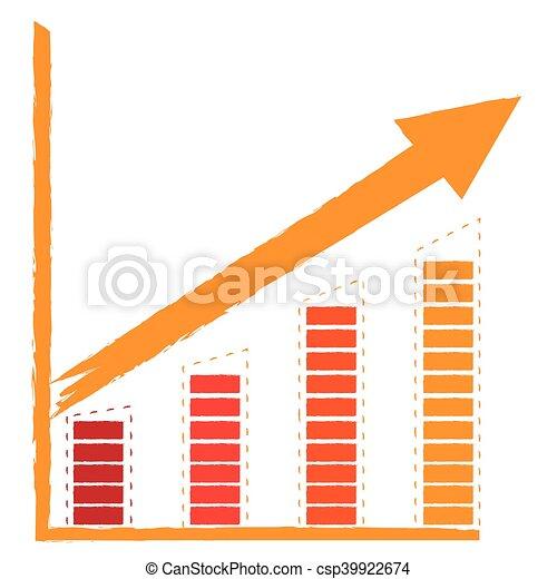 Business graph bar - csp39922674