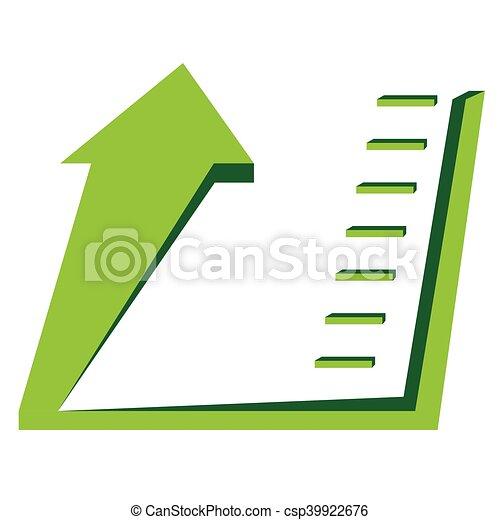 Business graph bar - csp39922676