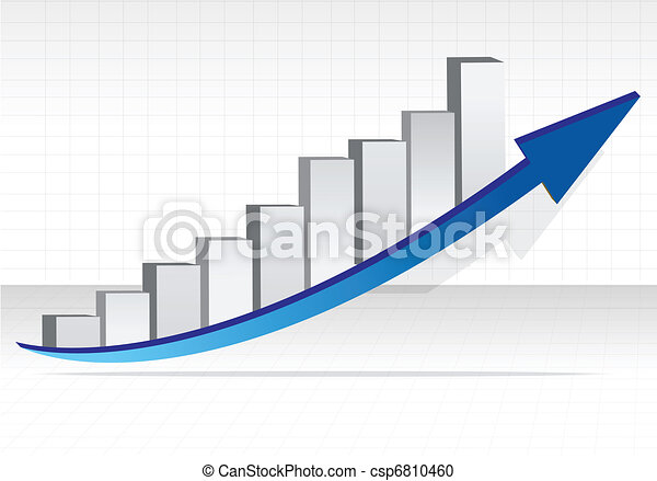 Business graph. Business success - csp6810460
