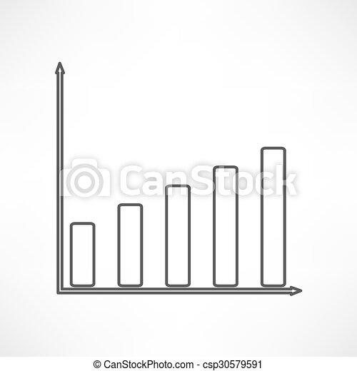 Business graph - csp30579591