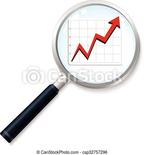Business graph - csp32757296