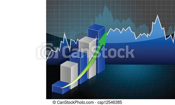 Business Graph - csp12546385