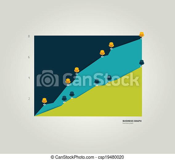 Business graph.  - csp19480020