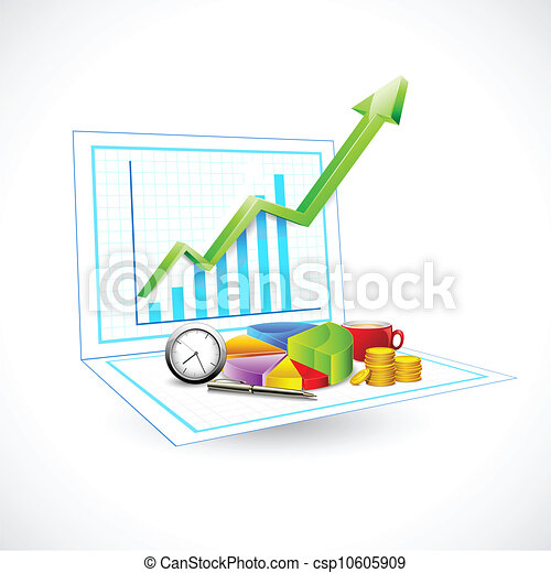 Business Graph - csp10605909