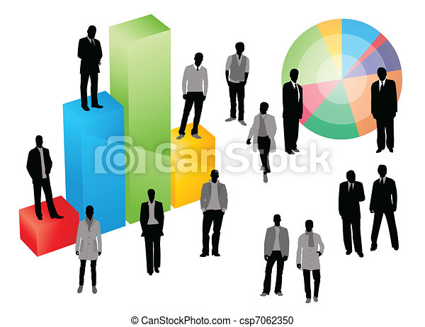 business graph - csp7062350