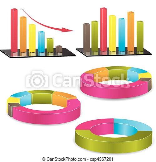 Business graph. Vector Illustration - csp4367201