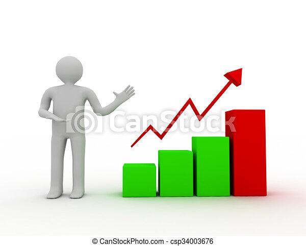 business graphique diagramme croissance pr sentation illustrations de stock rechercher. Black Bedroom Furniture Sets. Home Design Ideas