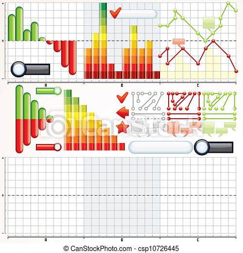 Business Graphs Collection - csp10726445