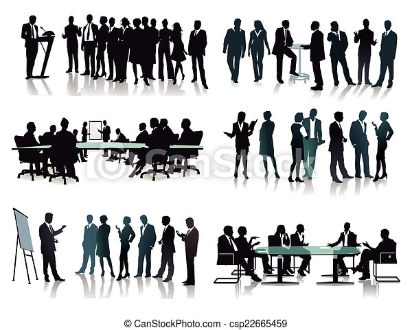 Business groups meetings - csp22665459