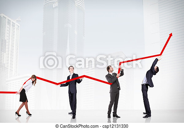 Business Growth And Success Graph - csp12131330