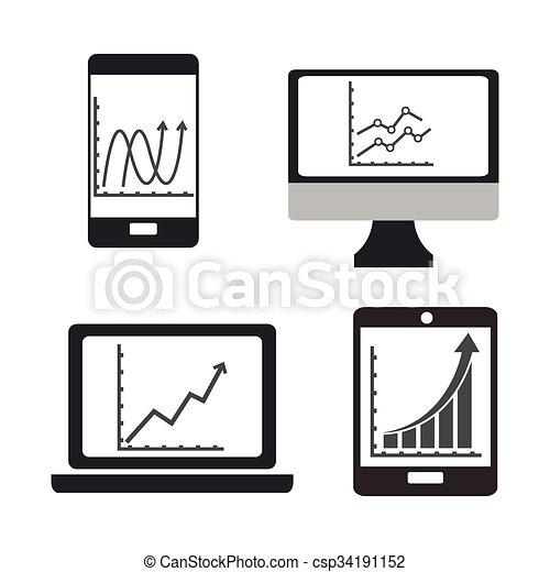 Business growth design  - csp34191152