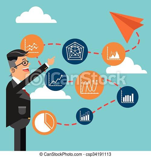 Business growth design  - csp34191113