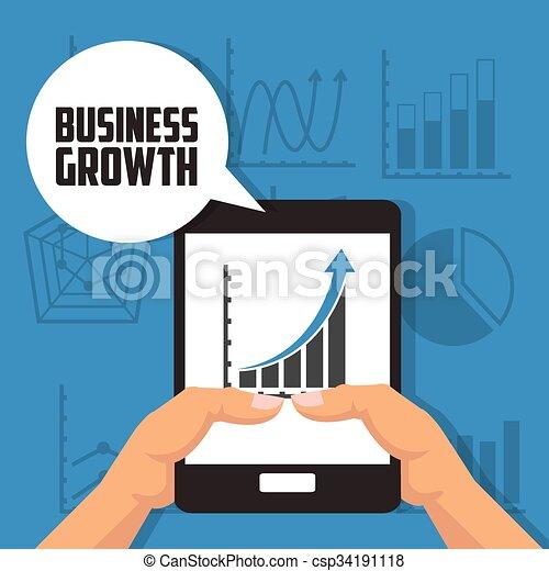 Business growth design  - csp34191118