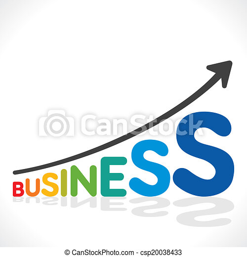 business growth graph - csp20038433