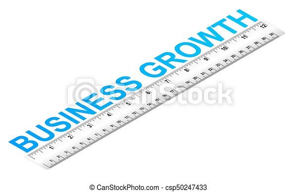 Business Growth Ruler - csp50247433