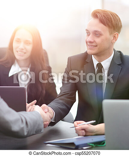 business handshake business partners - csp55207070