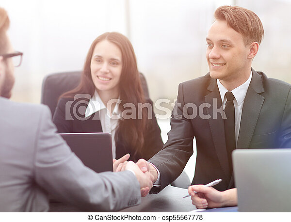 business handshake business partners - csp55567778
