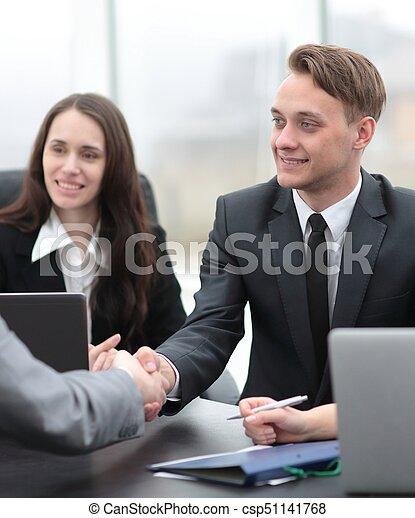 business handshake business partners - csp51141768