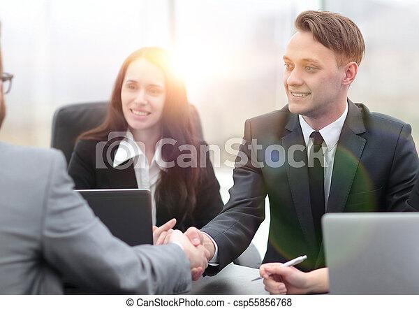 business handshake business partners - csp55856768