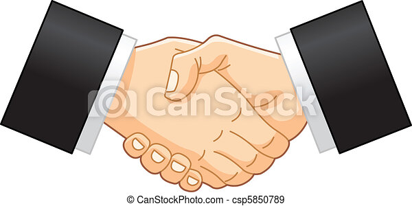 Business handshake - csp5850789