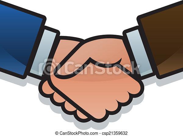 Business handshake - csp21359632