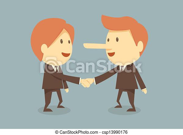 Business handshake - csp13990176