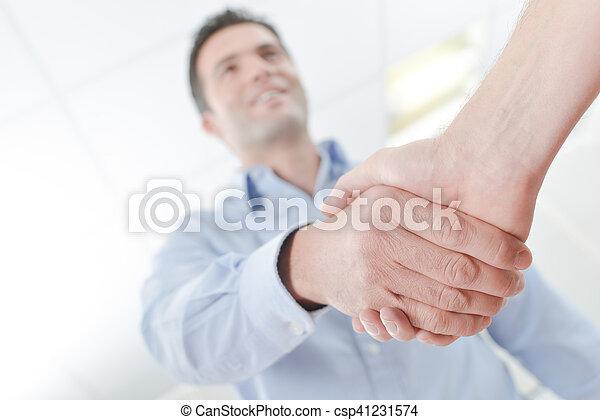 Business handshake - csp41231574