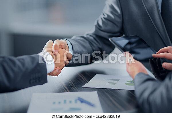 Business handshake - csp42362819