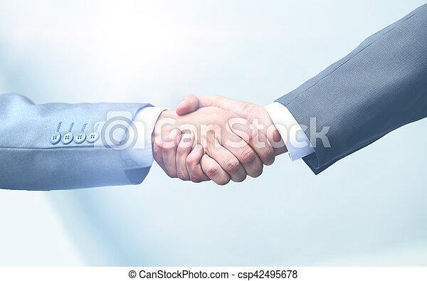 Business handshake - csp42495678