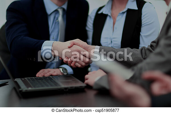 Business handshake - csp51905877