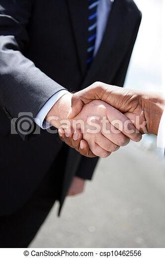 Business handshake - csp10462556